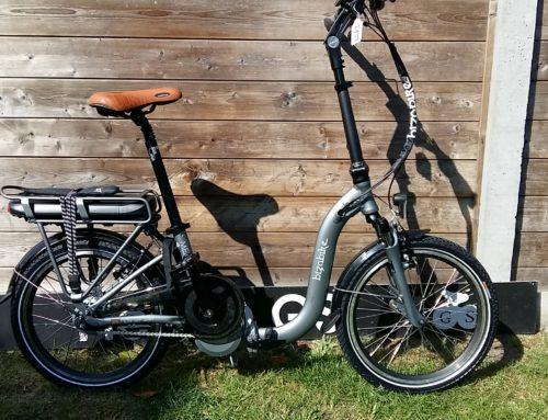 Bizobike mezzo vouwfiets met middenmotor